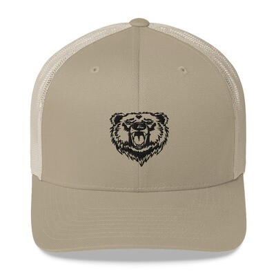 Bear - Trucker Cap (Multi Colors) The Rocky Mountains Canadian American Rockies