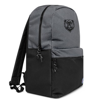 Bear - Embroidered Champion Backpack