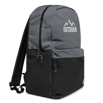 Outdoor - Embroidered Champion Backpack