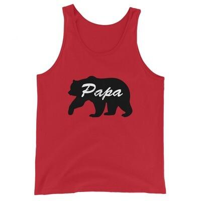 Papa Bear - Tank Top (UNISEX) (Multi Colors)