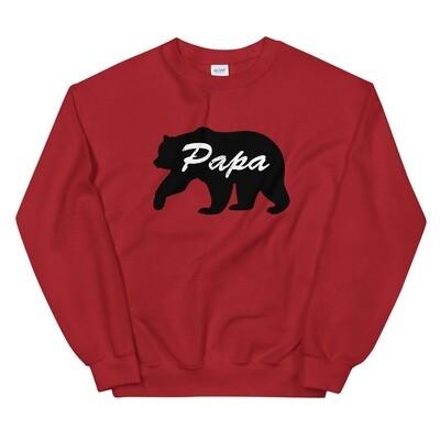 Papa Bear - Sweatshirt (Multi Colors)