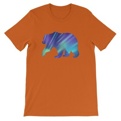 Aurora Bear - T-Shirt (Multi Colors) The Rocky Mountains, Canadian American Rockies
