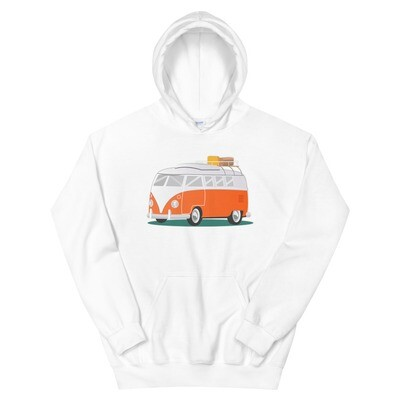 Campervan - Hoodie (Multi Colors) The Rocky Mountains, Canadian American Rockies