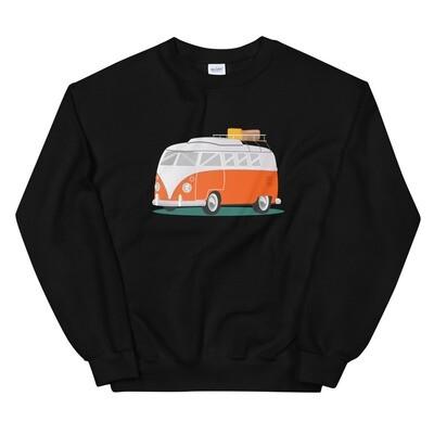 Campervan - Sweatshirt (Multi Colors) The Rocky Mountains, Canadian American Rockies