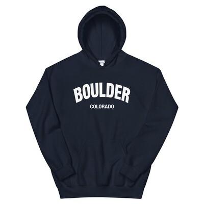 Boulder Colorado - Hoodie (Multi Colors) The Rocky Mountains, American Rockies