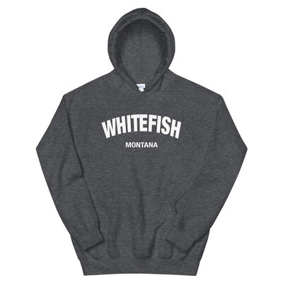 Whitefish Montana - Hoodie (Multi Colors) The Rocky Mountains, American Rockies