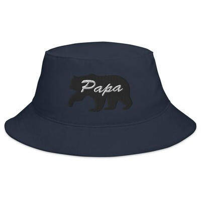Papa Bear - Bucket Hat (Multi Colors) The Rocky Mountains