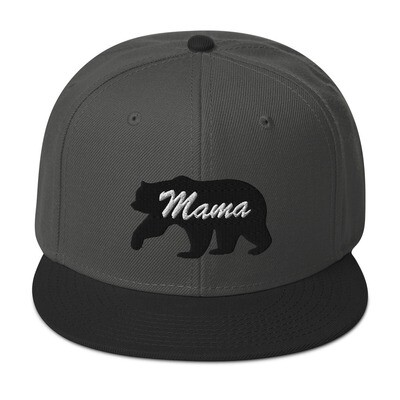 Mama Bear - Snapback Hat (Multi Colors) The Rocky Mountains