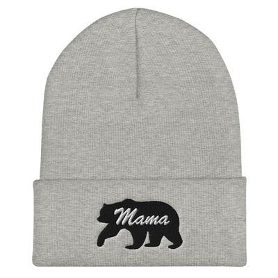 Mama Bear - Cuffed Beanie (Multi Colors) The Rocky Mountains