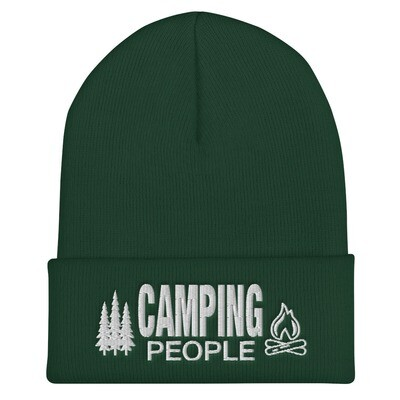 Camping People - Cuffed Beanie (Multi Colors) The Rocky Mountains
