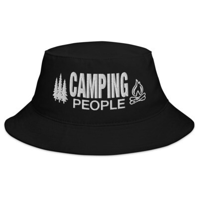 Camping People - Bucket Hat (Multi Colors) The Rocky Mountains