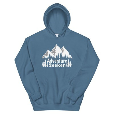 Adventure Seeker - Hoodie (multi Colors) The Rocky Mountains American Canadian Rockies