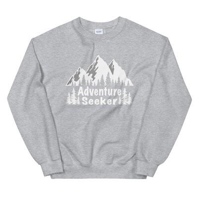 Adventure Seeker - Sweatshirt (Multi Colors) The Rocky Mountains
