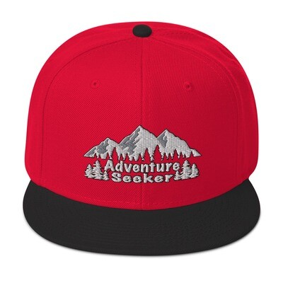 Adventure Seeker - Snapback Hat (Multi Colors) The Rocky Mountains