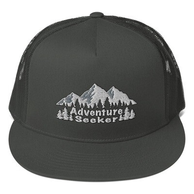 Adventure Seeker - Mesh Back Snapback - The Rocky Mountains