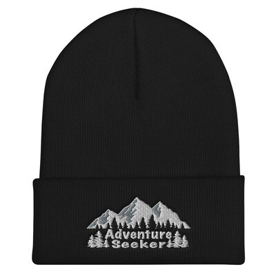 Adventure Seeker - Cuffed Beanie (Multi Colors) The Rocky Mountains