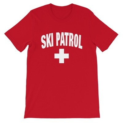 SKI PATROL - T-Shirt (Multi Colors)