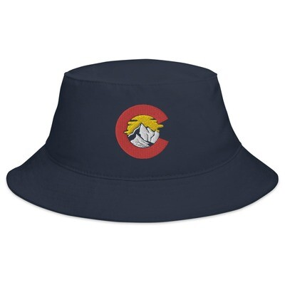 Colorado USA - Bucket Hat (Multi Colors) The Rocky Mountains