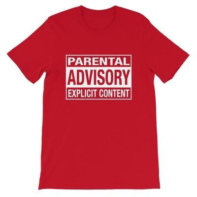 Parental Advisory Explicit Content - t-shirt (Multi Colors)