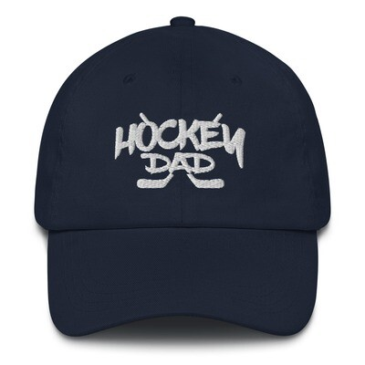 Hockey Dad - Baseball / Dad hat (Multi Colors)