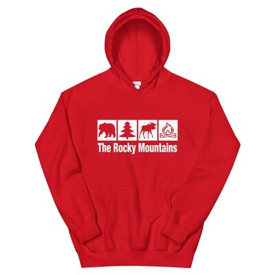 The Rocky Mountains - Hoodie (Multi Colors)