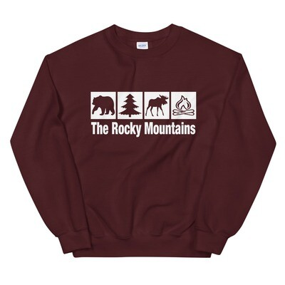 The Rocky Mountains - Sweatshirt (Multi Colors)
