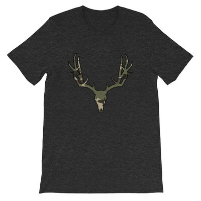 Deer Skull Forest (Hunting) Camo - T-Shirt (Multi Camo)