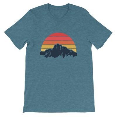 Mountain Sunset - T-Shirt (Multi Colors)