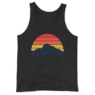 Mountain Sunset - Tank Top (Multi Colors)