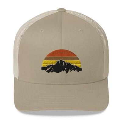 Mountain Sunset - Trucker Cap (Multi Colors)