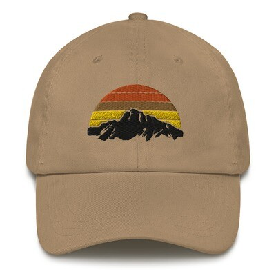 Mountain Sunset - Baseball / Dad hat (Multi Colors)