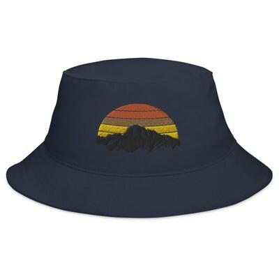 Mountain Sunset - Bucket Hat (Multi Colors)