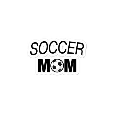 Soccer Mom - Bubble-free stickers (Multi Sizes)