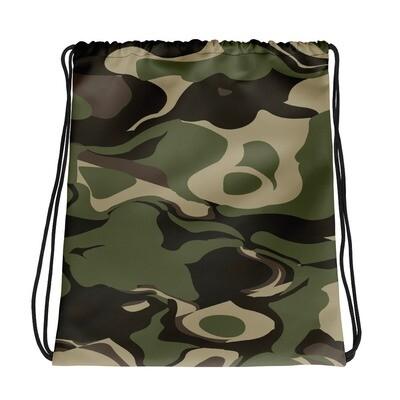 Forest (Hunting) Camo - Drawstring bag