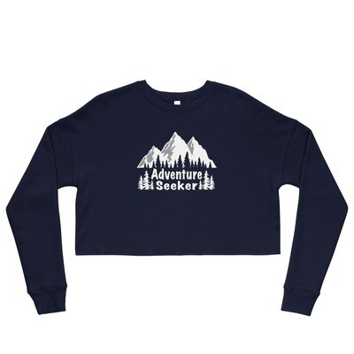Adventure Seeker - Crop Sweatshirt (Multi Colors)