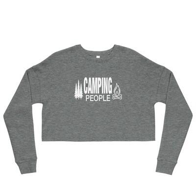 Camping People - Crop Sweatshirt (Multi Colors)