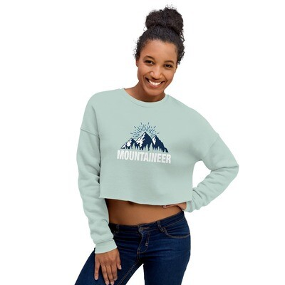 Mountaineer - Crop Sweatshirt (Multi Colors)