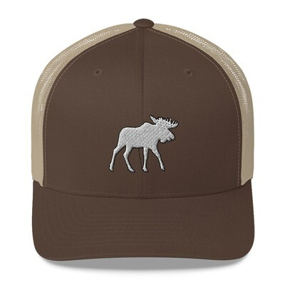 Moose - Trucker Cap (Multi Colors) The Rocky Mountains Canadian American Rockies