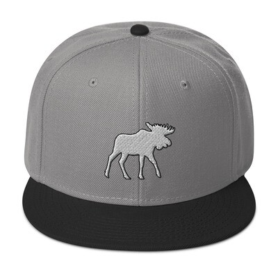 Moose - Snapback Hat (Multi Colors) The Rocky Mountains Canadian American Rockies