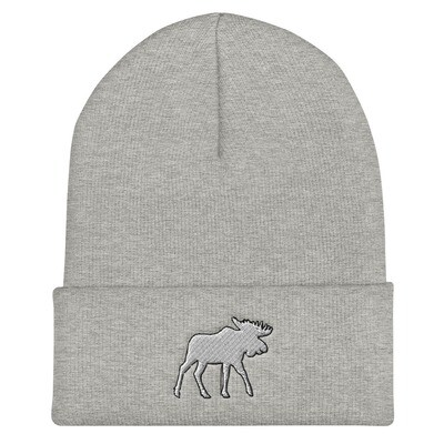 Moose - Cuffed Beanie (Multi Colors) The Rocky Mountains Canadian American Rockies