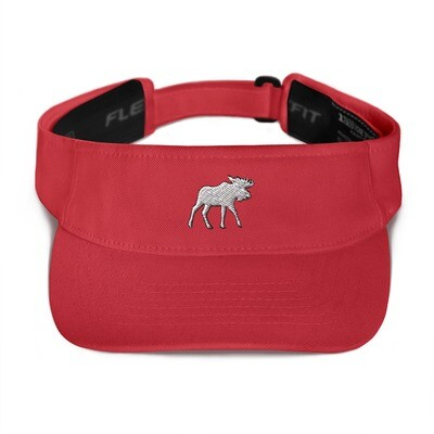 Moose - Visor (Multi Colors) The Rocky Mountains Canadian American Rockies