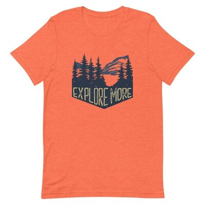 Explore More - T-Shirt (Multi Colors)