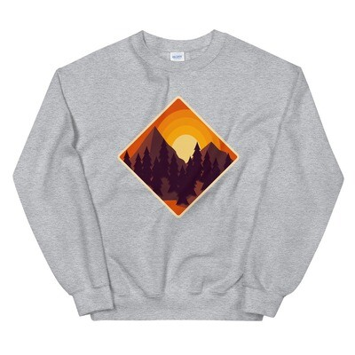 Mountain Sunset - Sweatshirt (Multi Colors)