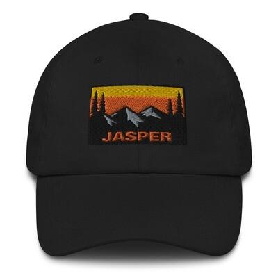 Jasper Alberta Canada - Baseball / Dad hat (Multi Colors) Canadian Rockies
