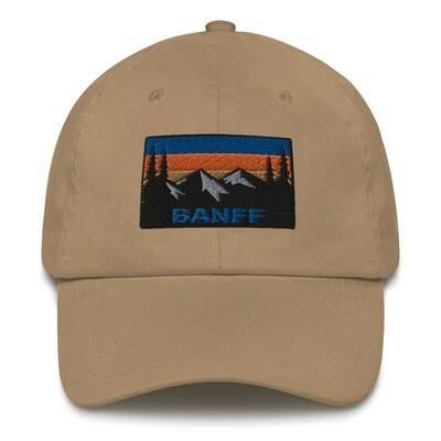 Banff Alberta Canada - Baseball / Dad hat (Multi Colors) Canadian Rocky Mountains