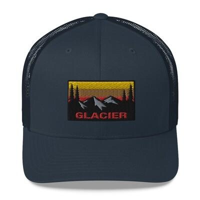 Glacier - Trucker Cap (Multi Colors) The Rocky Mountains