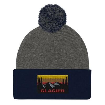 Glacier - Pom-Pom Beanie (Multi Colors) The Rocky Mountains