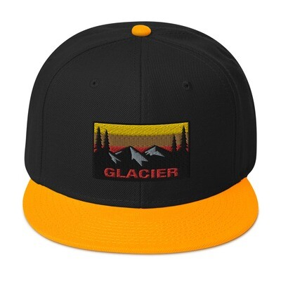 Glacier - Snapback Hat (Multi Colors) The Rocky Mountains