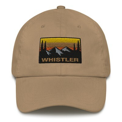 Whistler British Columbia - Baseball / Dad hat (Multi Colors) Canadian Rocky Mountains
