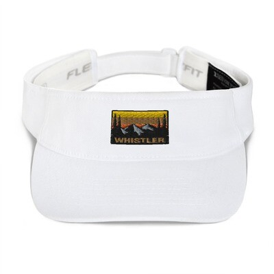Whistler British Columbia - Visor (Multi Colors) Canadian Rocky Mountains